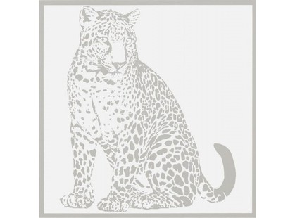 Petracer`s Gran Gala Leopardo Seduto Bianco