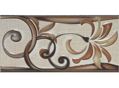 Porcelanite Dos 421 Cenefa  Moka/Beige