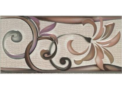 Porcelanite Dos 421 Cenefa  Rosa/Malva