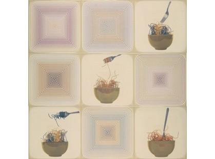 Porcelanite Dos Serie 7015-7016-7017 Composicion 7015.7016.7017 Crema La Pasta Iii