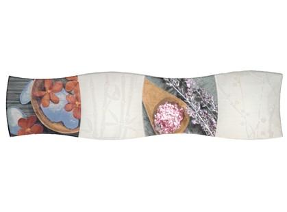 Porcelanite Dos Serie 9001 Composicion  Gris~rojo~burdeos~rosa Dreams III 20x80