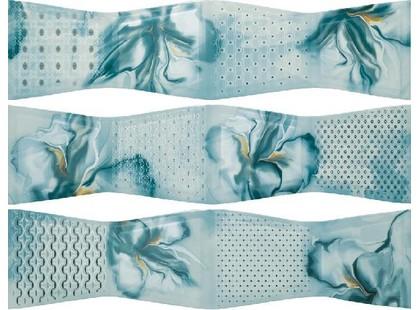 Porcelanite Dos 9003 Composicion Aqua-Hielo-Turquesa Armonia III
