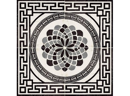 Porcelanite Dos Serie 5003 Roseton  Gris