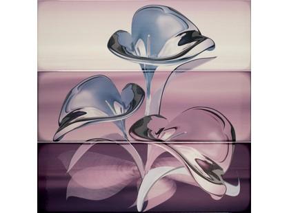 Porcelanite Dos Serie 7015-7016-7017 Composicion  Murano III Fucsia-Lila-Malva