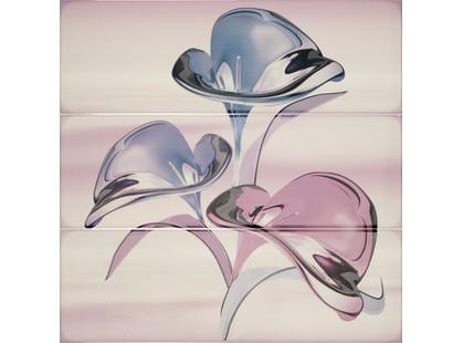 Porcelanite Dos Serie 7015-7016-7017 Composicion Murano III Lavanda