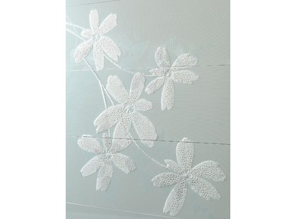 Porcelanosa Glass Flower Blanco
