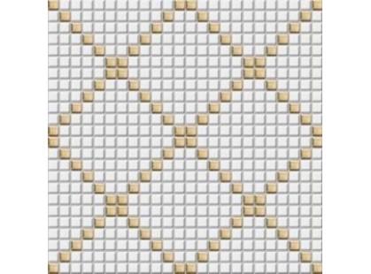 Rako Tetris GDM01003 Set Золотисто-белый