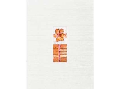 Rako India WILKA010 Бело-оранжевая