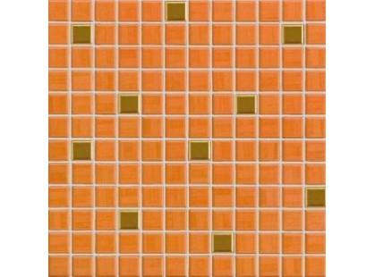 Rako India GDM02065 Оранжево-золотая