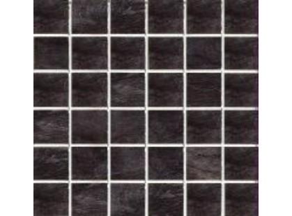 Rex Ceramiche Ardoise Mosaico Noir Grip