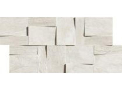 Rex Ceramiche Ardoise Modulo Muretto 3d Blanc