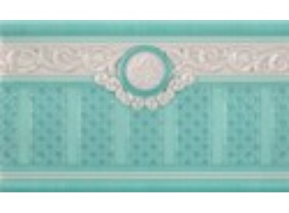 Rocersa ceramic Fifth Avenue Zocalo  AQUA