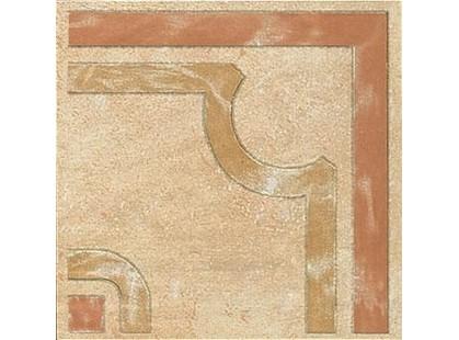 Saime ceramiche Montalcino Ocra Angolo Rosone (207805)