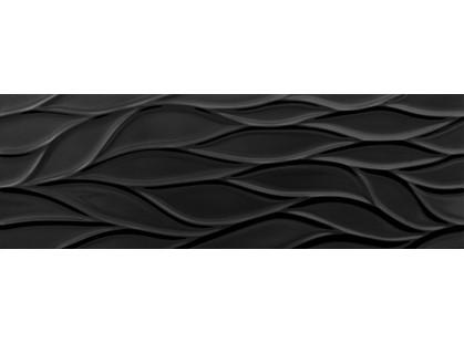 Saloni Ceramica Destil Fluctus Negro