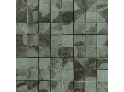 Serenissima Cir Anni 70 Fango Mosaico Tessera Mix 5.7x5.7 10