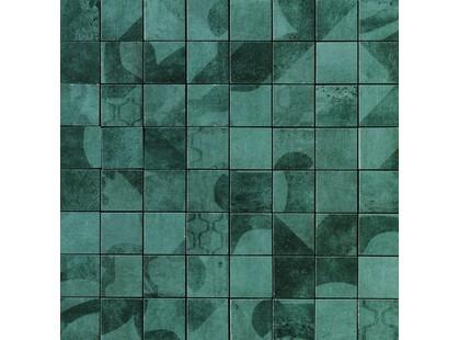 Serenissima Cir Anni 70 Malachite Mosaico Tessera Mix 5.7x5.7 10