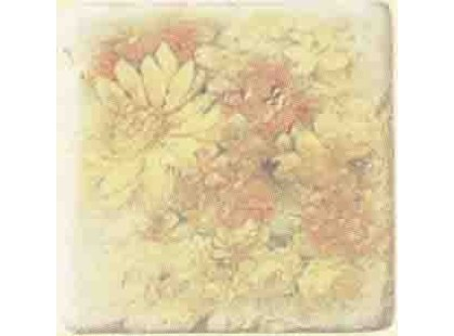 Serenissima Cir Marble Age Inserto Ottocento Botticino S/3 (Ромашки)