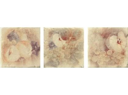 Serenissima Cir Marble style Inserto S/3 Botticino Beige