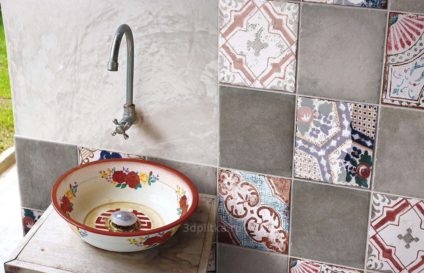 Mardi gras ceramic tile