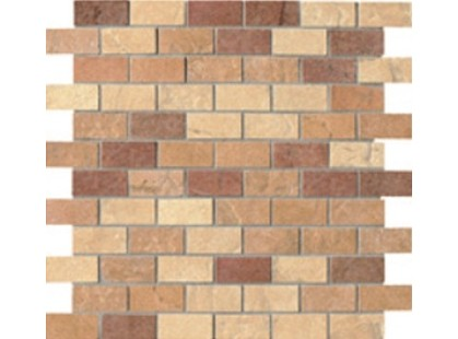Serenissima Cir Quarry stone Mosaico Mix Light Mattoncino