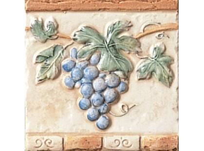 Serenissima Cir Quarry stone Fascia Grappoli S/2 Rosso