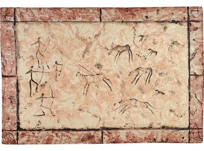 Serenissima Cir Quarry stone Formella Graffiti Corallo