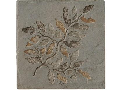 Serenissima Cir Quarry stone Inserto Fossili Foglie S/2 Forest