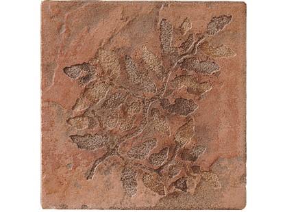Serenissima Cir Quarry stone Inserto Fossili Foglie S/2 Terra