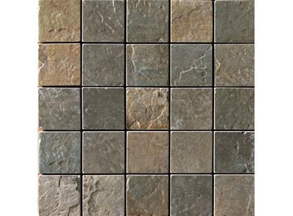 Serenissima Cir Quarry stone Mosaico Mix Dark (Forest, Slate)