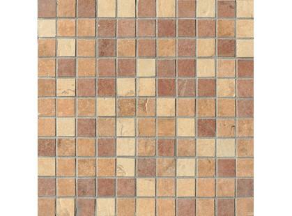 Serenissima Cir Quarry stone Mosaico Mix Light Tessera (Amber, Sand, Terra)
