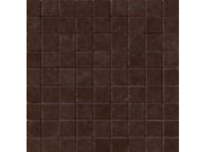 Serenissima Cir Regent Mosaico Marrone (3x3)