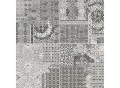 Serenissima Cir Riabita il  Cotto Grey Inserto Pattern s/4 10,5