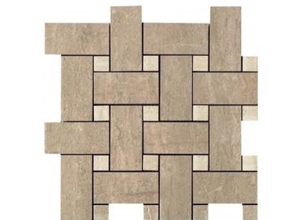 Serenissima Cir Travertino Mosaico Noce