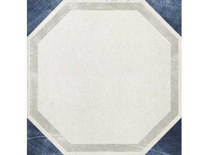 Serenissima Cir Via Emilia Inserto Esagono Bianco-blu