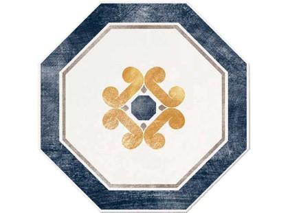 Serenissima Cir Via Emilia Ottagona Lato 10 Bianco-blu