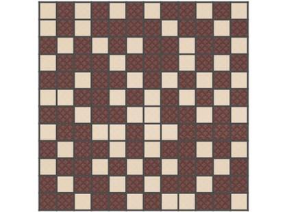Slava Zaitsev Arcobaleno Mosaico Beige-Brown