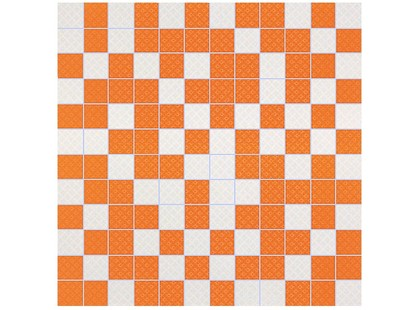 Slava Zaitsev Cavalletto Mosaico White-Orange