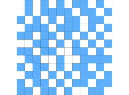Slava Zaitsev Soul ARCOBALENO SHINE Mosaico White-Blue