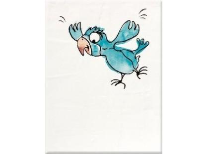 """Steuler BongoBongo 34077 """"Голубой Попугай"""" На Белом Фоне"""