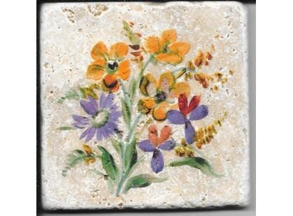 Травертин Provance Цветы полевые 1