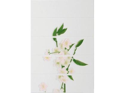 Уралкерамика Мидори 7МИ025  на белом розовый 2