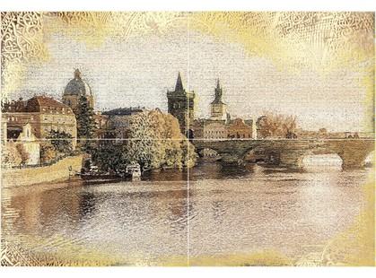 Уралкерамика Прага из 4 плиток ПН7ПГ1 72,8х49,8