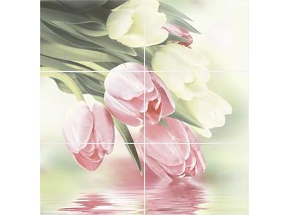 Уралкерамика Рефлекс Тюльпан из 6 плиток ПН7РТ1