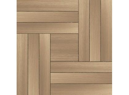 Уралкерамика Рондо Рондо Плитка напольная на коричневом коричневая ПГ3РО004 41,8х41,8