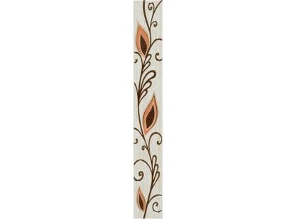 Уралкерамика Жасмин 53ЖС408 на коричневом желтый