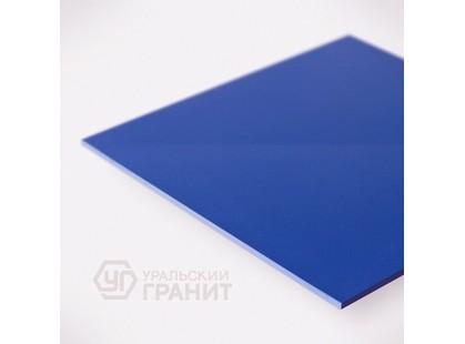 Уральский гранит 60х60 полированный UF025 (насыщенно-синий)