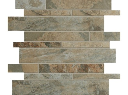 Vallelunga Pietra lavica Mosaico Brick Vulcano