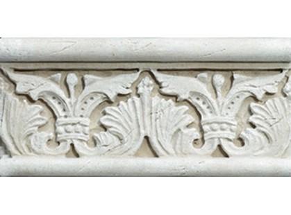Vallelunga Pietra romana Avorio Listello 7x15
