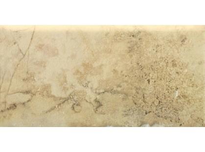 Vallelunga Pietra romana Ocra Bullnose