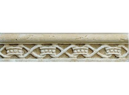 Vallelunga Pietra romana Ocra Listello 3x15